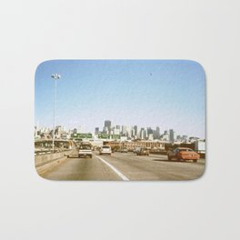 Highway 101 in San Francisco in the 1980s Bath Mat