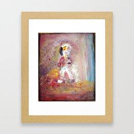 Hi! Framed Art Print