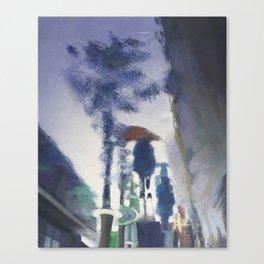 Trottoir miroir Canvas Print