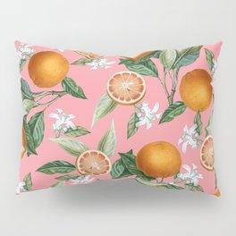 Lemon and Leaf Pattern V Pillow Sham