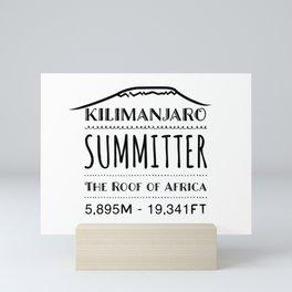 Kilimanjaro Polepole Mini Art Print