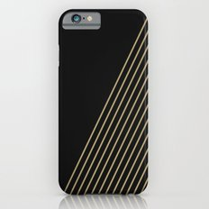 Tan & Black Stripes  iPhone 6s Slim Case