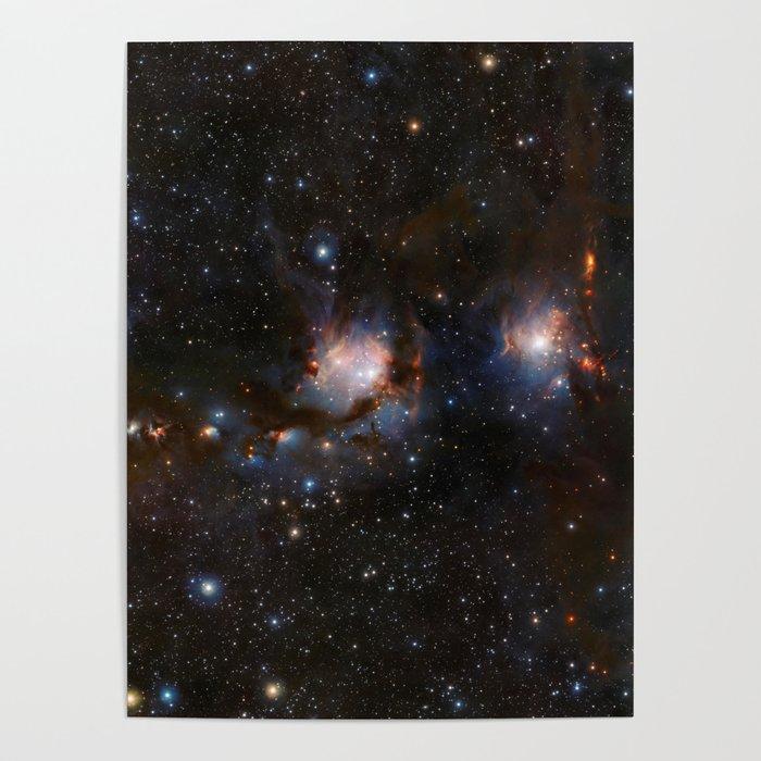 Messier 78 Poster