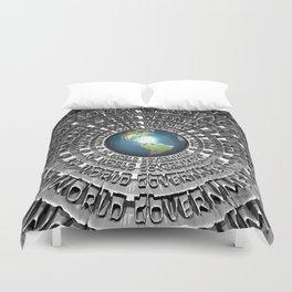 No World Government Duvet Cover