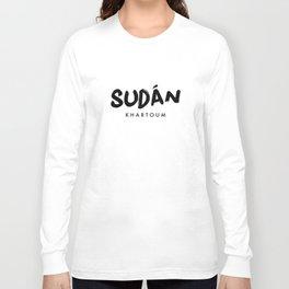 Khartoum x Sudan Long Sleeve T-shirt