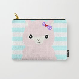 Alpaca In Love  Carry-All Pouch