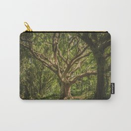 Old Green Tree Carry-All Pouch