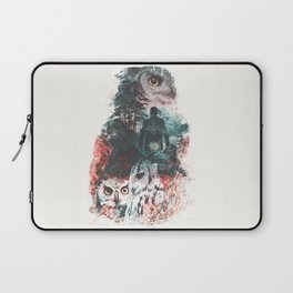 Not What They Seem Inspired by Twin Peaks Laptop Sleeve
