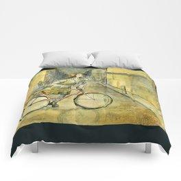 Alley Bike Comforters