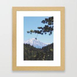 Shasta Framed Art Print
