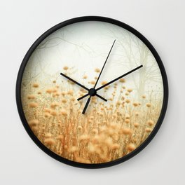 The Magic of Fog Wall Clock