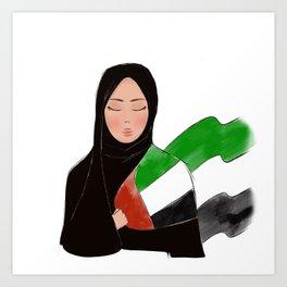 Spirit of emirates Art Print