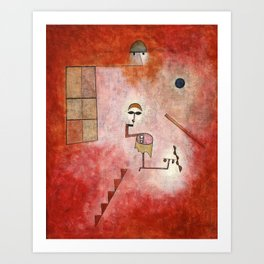 Paul Klee - Prestidigitator Art Print