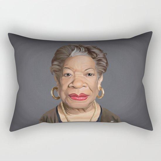 Celebrity Sunday ~ Maya Angelou Rectangular Pillow