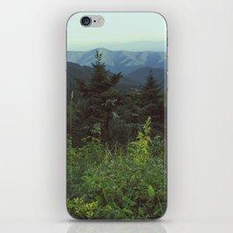Wild Mountainside iPhone Skin
