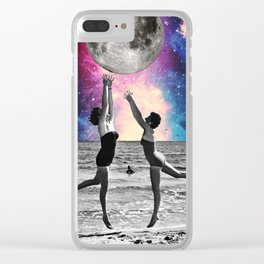 Lunar Lust Clear iPhone Case