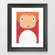 Studio Ghibli - Ponyo Framed Art Print