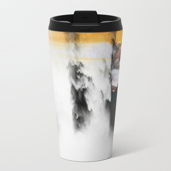 Isolation Waterfall Metal Travel Mug