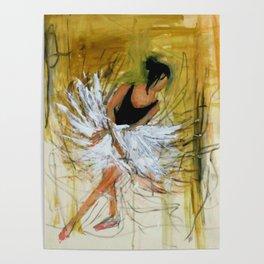 Ballerina in Motion II Poster