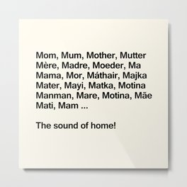 Mothers Day VII Metal Print