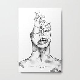 Underbite Metal Print