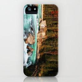 Natural Bridge Falls - Yoho, BC iPhone Case