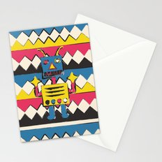 Fighting Sleep Stationery Cards