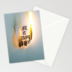 Temporary Stationery Cards