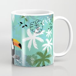 Turquoise Toucan Forest Coffee Mug