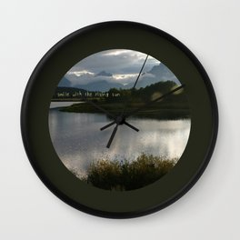 Day is Done  Wall Clock
