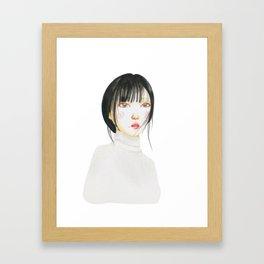 korean girl 3 Framed Art Print