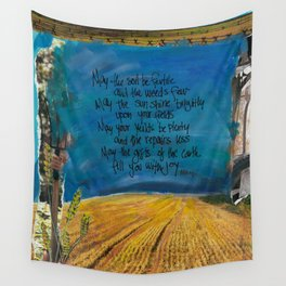 Farmers Blessing by Seattle Artist Mary Klump Wall Tapestry