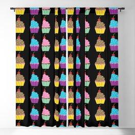 Cupcake Blackout Curtain