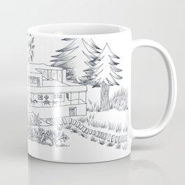 mies house Coffee Mug
