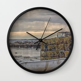 Sunbeam afternoon at Lanes Cove Wall Clock