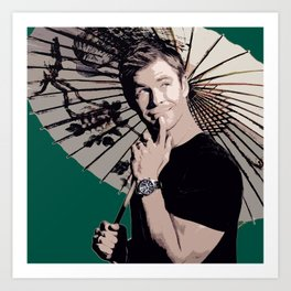 Chris Hemsworth 3 Art Print
