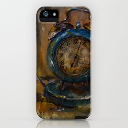 Magical Clock iPhone Case