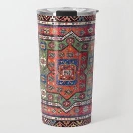 Kuba Sumakh East Caucasus Antique Rug Travel Mug