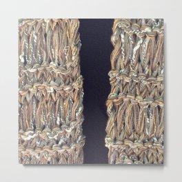 Knitter 4 Metal Print