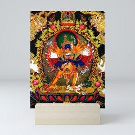 Hindu Kali 12 Mini Art Print