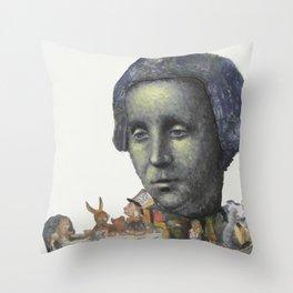 Louis Carrol Throw Pillow