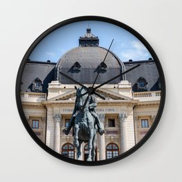 Rouamnia, Central University Library Carol I, Bucarest Wall Clock