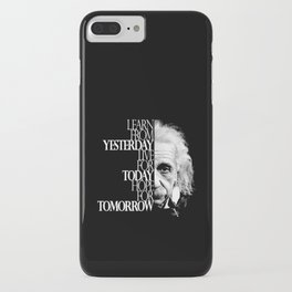 Live for Today iPhone Case