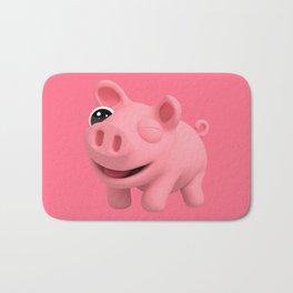 Rosa the Pig Winks Bath Mat