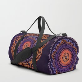 Colourful Mandala of Life Duffle Bag