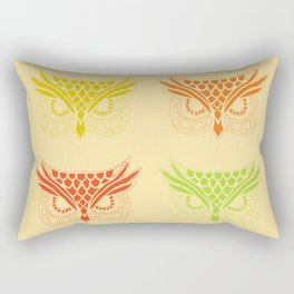 Owl Tribe Rectangular Pillow
