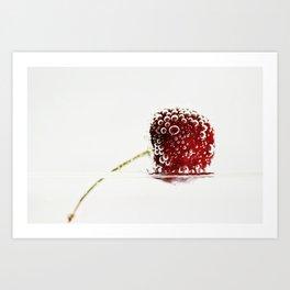 Cheery Cherry Art Print