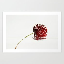 Cheery Cherry Art Print
