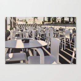 En terrasse Canvas Print