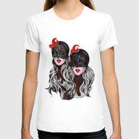 gemini T-shirts featuring Gemini by Felicia Atanasiu